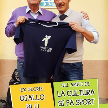 Ettore Mazzali con Massimiliano Rossi - A.C. Biancazzurra