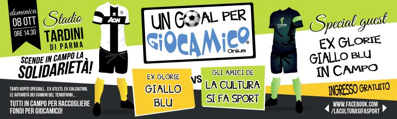Un GOAL per GIOCAMICO 2017