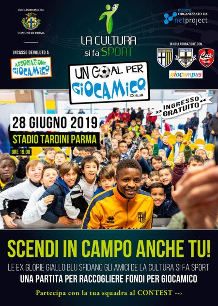 LA CULTURA si fa SPORT 2019 -Un Goal per Giocamico 2019